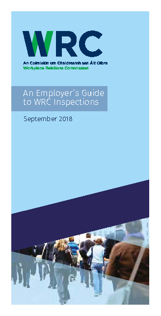 Employers Guide to Inspections front page preview