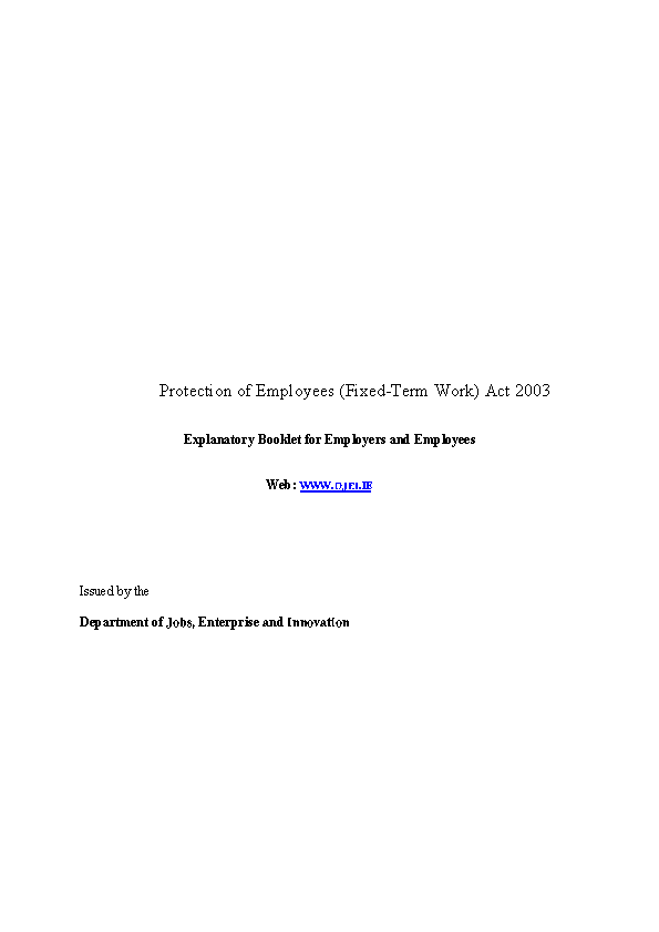 5 Conditions Of Employment