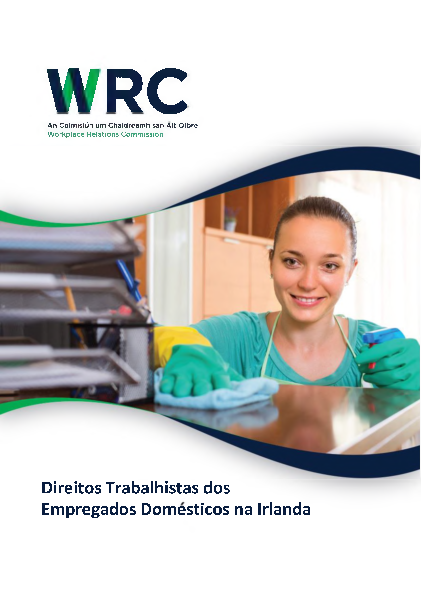 Portugese-Domestic Worker Leaflet front page preview