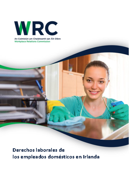 Spanish-Domestic Worker Leaflet front page preview
