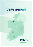 WRC Annual Report 2016 front page preview