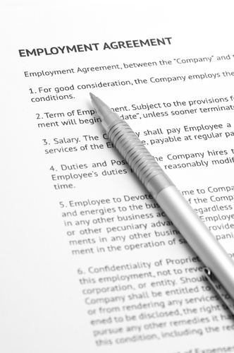 Terms of employment workplace relations for Statement of terms and conditions of employment template